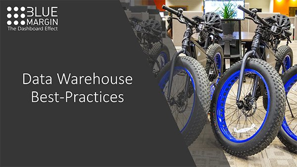 Data Warehouse Best Practices cover