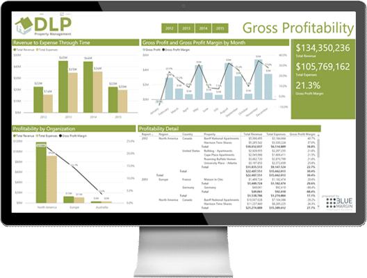 Blue Margin Microsoft Gold Partner: Data Analytics and Data Platform